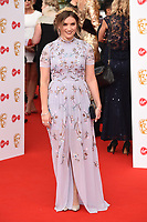 Chelsea Halfpenny arriving for the BAFTA TV Awards 2018 at the Royal Festival Hall, London, UK. <br /> 13 May  2018<br /> Picture: Steve Vas/Featureflash/SilverHub 0208 004 5359 sales@silverhubmedia.com