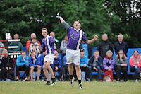 KAATSEN: HOMMERTS-JUTRYP: 13-06-2015, NK Jongens, KV Makkum wint in de finale met 5 - 3 en 6 - 6 van Sexbierum/Pitersbierum, Jan Sjouke Weewer, ©foto Martin de Jong