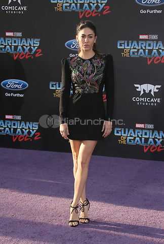 """HOLLYWOOD, CA - April 19: Natalia Cordova-Buckley, At Premiere Of Disney And Marvel's """"Guardians Of The Galaxy Vol. 2"""" At The Dolby Theatre  In California on April 19, 2017. Credit: FS/MediaPunch"""