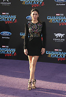 "HOLLYWOOD, CA - April 19: Natalia Cordova-Buckley, At Premiere Of Disney And Marvel's ""Guardians Of The Galaxy Vol. 2"" At The Dolby Theatre  In California on April 19, 2017. Credit: FS/MediaPunch"