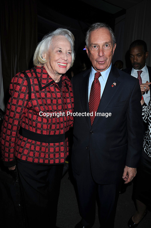 Liz Smith and Mayor Michael Bloomberg  at The 2010 Fete de Swifty .which benefits The Mayor's Fund to Advance New York City on September 29, 2010 at  73rd Street and Lexington Avenue in New York City.