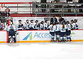 MORDEN, MB– Nov 6 2019: Game 6 - Team Quebec v Team Ontario Blue during the 2019 National Women's Under-18 Championship at the Access Event Centre in Morden, Manitoba, Canada. (Photo by Dennis Pajot/Hockey Canada Images)