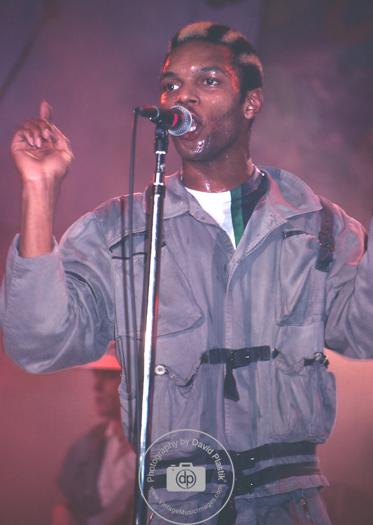 Ranking Roger of General Public performing live in 1984 in NYC, NY at The Ritz