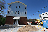 NWA Democrat-Gazette/J.T. WAMPLER Recently constructed residential properties in south Fayetteville Wednesday March 14, 2018.