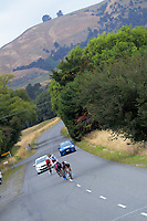 Srpint three, past Gladstone Inn, during stage two of the NZ Cycle Classic UCI Oceania Tour (Gladstone circuit) in Wairarapa, New Zealand on Thursday, 16 January 2020. Photo: Dave Lintott / lintottphoto.co.nz