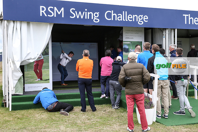 RSM stand in the People's Village, during Round Two of the 2016 Aberdeen Asset Management Scottish Open, played at Castle Stuart Golf Club, Inverness, Scotland. 08/07/2016. Picture: David Lloyd | Golffile.<br /> <br /> All photos usage must carry mandatory copyright credit (&copy; Golffile | David Lloyd)