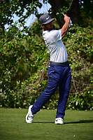 Kevin Chappell (USA) watches his tee shot on 10 during round 2 of the World Golf Championships, Dell Technologies Match Play, Austin Country Club, Austin, Texas, USA. 3/23/2017.<br /> Picture: Golffile | Ken Murray<br /> <br /> <br /> All photo usage must carry mandatory copyright credit (&copy; Golffile | Ken Murray)