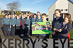 BEST DOCUMENTARY AWARD: Pupils from Balloonagh Primary school were this week awarded Outstanding Achievement in The National FI?S Film Festival Award.