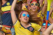 Una hincha de Colombia celebra el primer gol de Colombia contra Peru  en el Estadio Metropolitano Roberto Melendez de Barranquilla el  8 de octubre de 2015.<br /> <br /> Foto: Archivolatino<br /> <br /> COPYRIGHT: Archivolatino<br /> Prohibido su uso sin autorizaci&oacute;n.