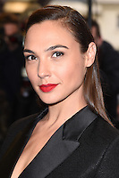 "Gal Gadot<br /> arrives for the ""Criminal"" premiere at the Curzon Mayfair Cinema, London<br /> <br /> <br /> ©Ash Knotek  D3104 07/04/2016"