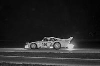 John Paul Jr., #18 Porsche, Paul Revere 250, Daytona International Speedway, Daytona Beach, Florida, July 4, 1981. (Photo by Brian Cleary/ www.bcpix.com)