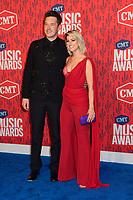 05 June 2019 - Nashville, Tennessee - Sam Palladio, Cassadee Pope. 2019 CMT Music Awards held at Bridgestone Arena. <br /> CAP/ADM/DMF<br /> ©DMF/ADM/Capital Pictures