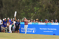 Cameron Smith (AUS) on the 3rd tee during Round 4 of the Australian PGA Championship at  RACV Royal Pines Resort, Gold Coast, Queensland, Australia. 22/12/2019.<br /> Picture Thos Caffrey / Golffile.ie<br /> <br /> All photo usage must carry mandatory copyright credit (© Golffile   Thos Caffrey)