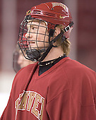 Ryan Dingle - Reigning national champions (2004 and 2005) University of Denver Pioneers practice on Friday morning, December 30, 2005 before hosting the Denver Cup at Magness Arena in Denver, CO.