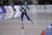 SPEED SKATING: SALT LAKE CITY: 20-11-2015, Utah Olympic Oval, ISU World Cup, Podium 5000m Ladies B-Division, Carien Kleibeuker (NED), ©foto Martin de Jong