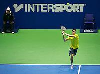 18-12-13,Netherlands, Rotterdam,  Topsportcentrum, Tennis Masters,   Daan Maasland    <br /> Photo: Henk Koster