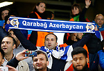 A Qarabag fan during the champions league match at Stamford Bridge Stadium, London. Picture date 12th September 2017. Picture credit should read: David Klein/Sportimage