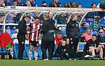 Billy Sharp of Sheffield Utd waits to come on during the championship match at St Andrews Stadium, Birmingham. Picture date 21st April 2018. Picture credit should read: Simon Bellis/Sportimage