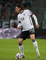 Nico Schulz (Deutschland Germany) - 16.11.2019: Deutschland vs. Weißrussland, Borussia Park Mönchengladbach, EM-Qualifikation DISCLAIMER: DFB regulations prohibit any use of photographs as image sequences and/or quasi-video.