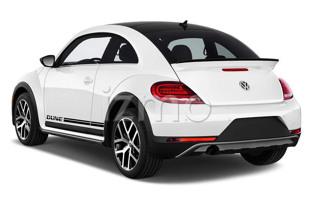 Car pictures of rear three quarter view of 2017 Volkswagen Beetle Dune 3 Door Hatchback angular rear