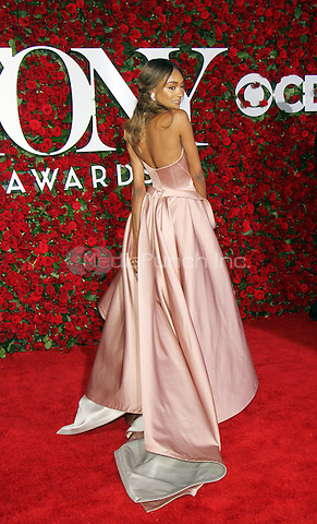 NEW YORK, NY-June 12:  Jourdan Dunn  at the 70th Annual Tony Awards at the Beacon Theatre in New York. NY June 12, 2016. Credit:RW/MediaPunch