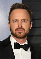 04 March 2018 - Los Angeles, California - Aaron Paul. 2018 Vanity Fair Oscar Party hosted following the 90th Academy Awards held at the Wallis Annenberg Center for the Performing Arts. <br /> CAP/ADM/BT<br /> &copy;BT/ADM/Capital Pictures