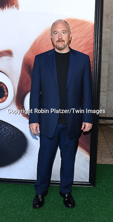 Louis C.K. attends the New York Premiere of &quot;The Secret Life of Pets&quot; on June 25, 2016 at David H Koch Theater at Lincoln Center in New York, New York, USA. <br /> <br /> photo by Robin Platzer/Twin Images<br />  <br /> phone number 212-935-0770