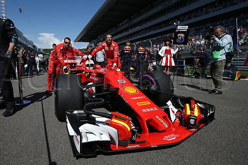 April 30th 2017, Sochi, Russia;  FIA Formula One World Championship 2017, Grand Prix of Russia, <br /> #5 Sebastian Vettel (GER, Scuderia Ferrari)in 2nd place in parc fere