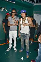 CORAL GABLES, FL - AUGUST 10: Ball Greezy backstage before performing during Kodak Black Homecoming Concert first show since getting home from jail in June at Watsco Center on August 10, 2017 in Coral Gables, Florida.  Credit: MPI10 / MediaPunch