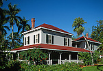 Winter home of the American inventor, Thomas A. Edison, Ft. Meyers, Florida, USA