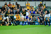 9th September 2017, nib Stadium, Perth, Australia; Supersport Rugby Championship, Australia versus South Africa; South African players watch the ball after a ruck during the second half