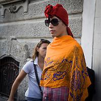 Secondo giorno della settimana della moda 2011 a Milano<br /> <br /> Second day of Milan fashion Show 2011