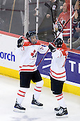 Evander Kane (Canada - 29), Brett Sonne (Canada - 12) - Canada defeated Russia 6-5 on Saturday, January 3, 2009, at Scotiabank Place in Kanata (Ottawa), Ontario during the 2009 World Junior Championship.
