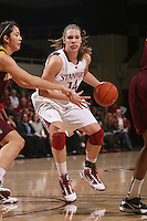 STANFORD, CA - JANUARY 28:  Kayla Pedersen of the Stanford Cardinal during Stanford's 71-48 win over ASU on January 28, 2010 at Maples Pavilion in Stanford, California.