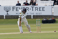 Nick Gubbins of Middlesex CCC check drives through cover during Middlesex CCC vs Lancashire CCC, Specsavers County Championship Division 2 Cricket at Lord's Cricket Ground on 11th April 2019