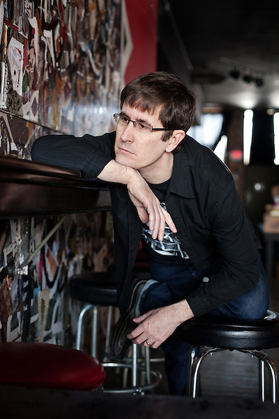 February 7, 2011. Durham, NC..John Darnielle of the Mountain Goats.