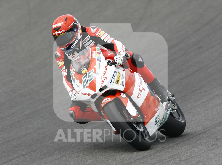 MOTOCICLISMO - G.P. ESPAÑA - JEREZ DE LA FRONTERA - 2/5/2010 - MOTO2 - STEFAN BRADL