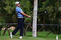 Sam Brazel (AUS) on the 4th tee during Round 1 of the Omega Dubai Desert Classic, Emirates Golf Club, Dubai,  United Arab Emirates. 24/01/2019<br /> Picture: Golffile | Thos Caffrey<br /> <br /> <br /> All photo usage must carry mandatory copyright credit (&copy; Golffile | Thos Caffrey)