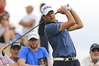 Simon Thornton (IRL) tees off the 8th tee during Saturday's Round 3 of the 2018 Dubai Duty Free Irish Open, held at Ballyliffin Golf Club, Ireland. 7th July 2018.<br /> Picture: Eoin Clarke | Golffile<br /> <br /> <br /> All photos usage must carry mandatory copyright credit (&copy; Golffile | Eoin Clarke)