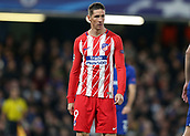 5th December 2017, Stamford Bridge, London, England; UEFA Champions League football, Chelsea versus Atletico Madrid; Fernando Torres of Atletico Madrid looks on