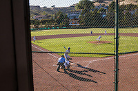 San Marin's Brad Smith pitches during the North Coast Section Division 3 final against Acalanes High at San Marin High School on June 6, 2011. The  umpires suspended the game after 10 innings with the score 4-4. NCS officials declared both teams Co-champions.