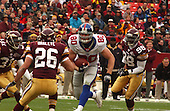Landover, MD - December8, 2002 --  Giant tight end Jeremy Shockey (80) carries the ball after making a reception against the Redskins in Landover, Maryland.  The Giants won the game 27 - 21.<br /> Credit: Ron Sachs / CNP<br /> [NOTE: No New York Metro or other Newspapers within a 75 mile radius of New York City]