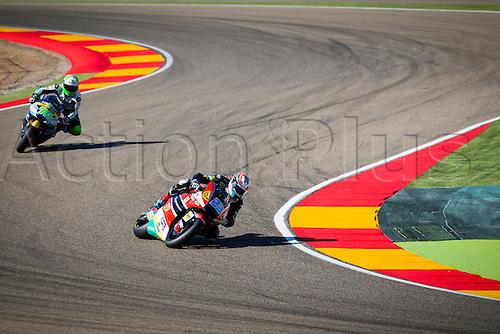 24.09.2016. Motorland Aragon, Alcaniz, Spain. MotoGP Grand Prix of Aragon. Qualifying.  Marcel Schrotter (GER),AGR Team rider,