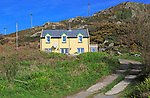 Track and house on Cape Clear Island, County Cork, Ireland, Irish Republic