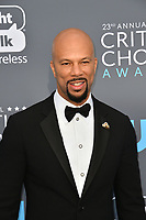 Common at the 23rd Annual Critics' Choice Awards at Barker Hangar, Santa Monica, USA 11 Jan. 2018<br /> Picture: Paul Smith/Featureflash/SilverHub 0208 004 5359 sales@silverhubmedia.com