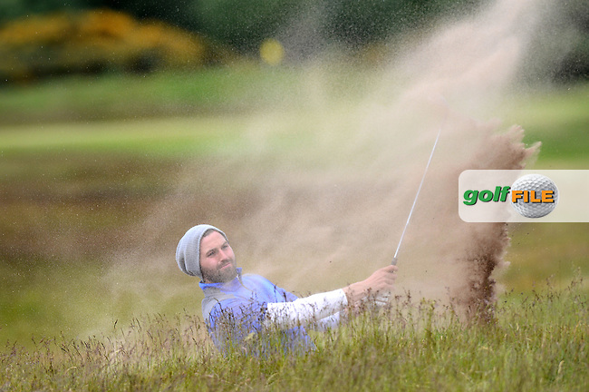 Andri Bjornsson of Iceland during the Third Round of the 120th Amateur Championship at Carnoustie Golf Links, Carnoustie, Scotland. Picture: Golffile | Richard Martin Roberts<br /> All photo usage must carry mandatory copyright credit (&copy; Golffile | Richard Martin Roberts)