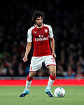 Arsenal's Mohamed Elneny in action during the Carabao cup match at the Emirates Stadium, London. Picture date 20th September 2017. Picture credit should read: David Klein/Sportimage