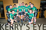 Front l-r George Doyle, Denis Dunworth  Back l'r Mark Houlihan, Benny Cassidy, James White, John Brosnan, Chris Dunworth, John Mannix, Eddie Barry, members of the newly launched Kingdom Endurance Sports Cycle Team at the Press launch in the Ballyroe Heights Hotel on Saturday
