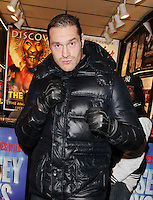 Boxer Tyson Fury  Seen Buying Theatre Tickets  In London on March 5, 2013. Photo: I-Images/ DyD Fotografos-DYDPPA