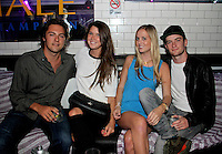 Tucker Wudyka, Kendra Dargoonian, Melanie Reedol and Randy Hearst attend The Friends of Finn by the Shore party at Finale East on Aug. 2, 2014 (Photo by Taylor Donohue/Guest of a Guest)